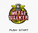Metal Walker title screenshot