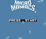 Micro Maniacs title screenshot