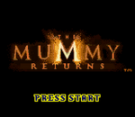 Mummy Returns, The title screenshot