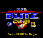 NFL Blitz 2001 title screenshot