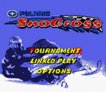 Polaris SnoCross title screenshot