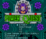 Power Quest title screenshot