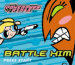 Powerpuff Girls, The - Battle Him title screenshot