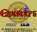Quest RPG - Brian's Journey title screenshot