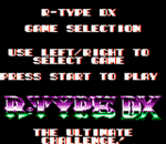 R-Type DX title screenshot
