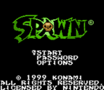 Spawn title screenshot