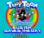 Tiny Toon Adventures - Buster Saves the Day title screenshot