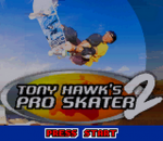 Tony Hawk's Pro Skater 2 title screenshot