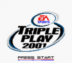 Triple Play 2001 title screenshot