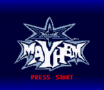 WCW Mayhem title screenshot