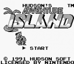 Adventure Island title screenshot