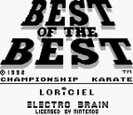 Best of the Best - Championship Karate title screenshot