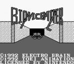 Bionic Battler title screenshot