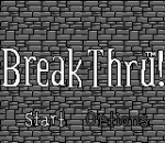 BreakThru! title screenshot