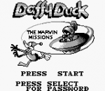 Daffy Duck title screenshot