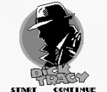 Dick Tracy title screenshot