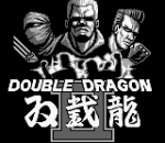 Double Dragon II title screenshot