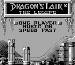 Dragon's Lair - The Legend title screenshot