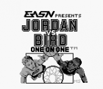 Jordan vs Bird - One on One title screenshot