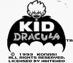 Kid Dracula title screenshot