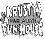 Krusty's Fun House title screenshot