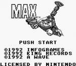 Max title screenshot