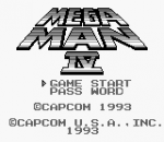 Mega Man IV title screenshot
