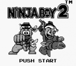 Ninja Boy 2 title screenshot
