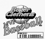 Roger Clemens' MVP Baseball title screenshot