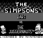 Simpsons, The - Bart vs. the Juggernauts title screenshot
