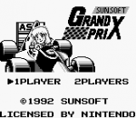 Sunsoft Grand Prix title screenshot