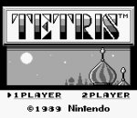 Tetris title screenshot