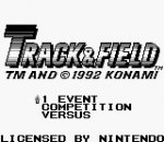Track & Field title screenshot