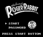 Who Framed Roger Rabbit title screenshot