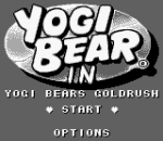 Yogi Bear in Yogi Bear's Goldrush title screenshot