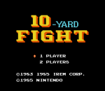 10-Yard Fight title screenshot