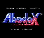 Abadox - The Deadly Inner War title screenshot