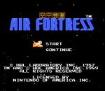 Air Fortress title screenshot