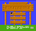 Athletic World title screenshot
