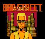 Bad Street Brawler title screenshot