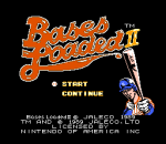 Bases Loaded II - Second Season title screenshot