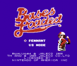 Bases Loaded title screenshot