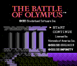 Battle of Olympus, The title screenshot