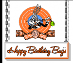 Bugs Bunny Birthday Blowout, The title screenshot