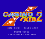 Casino Kid II title screenshot