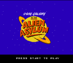 Dash Galaxy in the Alien Asylum title screenshot