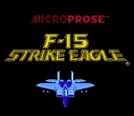 F-15 Strike Eagle title screenshot