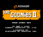 Goonies II, The title screenshot