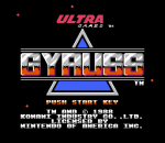 Gyruss title screenshot