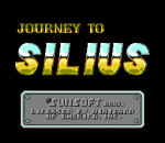 Journey to Silius title screenshot